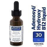 Pure Encapsulations - Adenosyl/Hydroxy B12 Liquid - Vitamin B12 to Promote Nerve and Mitochondrial Health - 30 ml (1 fl oz)