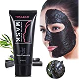 Black Mask Blackhead Remover, Blackhead Mask Peel Off, ToullGo 60g Suction Cleaner Black Mask, Deep Clean Blackhead/Farewell Strawberry Nose/Blackhead Killer Facial Masks Black