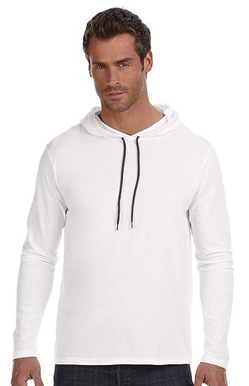 9c7202387 Amazon.com: Anvil Men's Lightweight Long-Sleeve T-Shirt: Sports & Outdoors