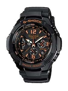 CASIO G-Shock Gravity Defier GW-3000B-1AER - Reloj de caballero de cuarzo, correa de resina color negro (con radio, cronómetro, luz)