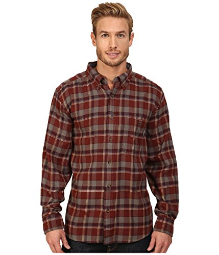 (Woolrich Men's Trout Run Flannel Shirt, Red Wood, XX-Large)