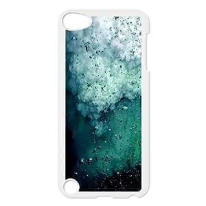 Jumphigh Splash Ipod Touch 5 Case Blue Splash, Splash, {White}