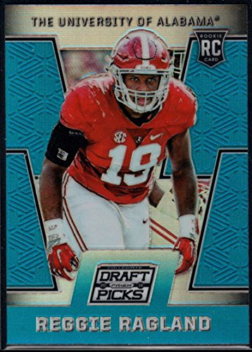 Football NFL 2016 Panini Prizm Collegiate Draft Picks Draft Picks Blue Prizms #173 Reggie Ragland #173 NM+ RC Rookie