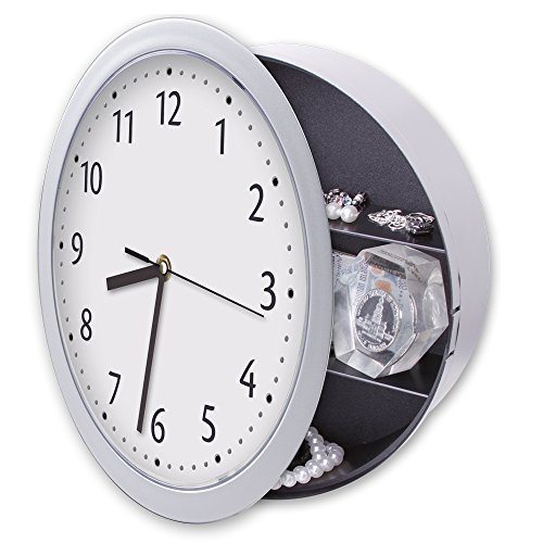 Hidden Diversion Safe Real Working Wall Clock