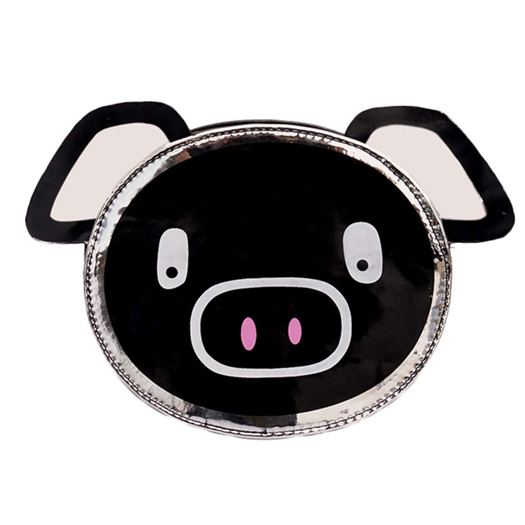 Fashion Girls Leather Chain Wild Cute Cartoon Pig Shoulder Messenger BagHandbags&Clutches&Evening Bags