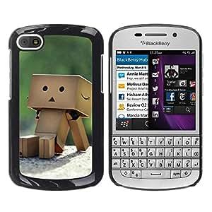 Smartphone Rígido Protección única Imagen Carcasa Funda Tapa Skin Case Para BlackBerry Q10 Cute Box box / STRONG