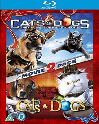 Amazon.com CATS \u0026 DOGS 1 \u0026 2 BD [Blu,ray] Various Movies \u0026 TV
