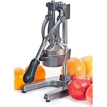 Large Commercial Juice Press Citrus Juicer, Manual Juicer Juices Pomegranate,Oranges, Lemons, Limes, And Grapefruits Juicing Is Fast Easy And Clean