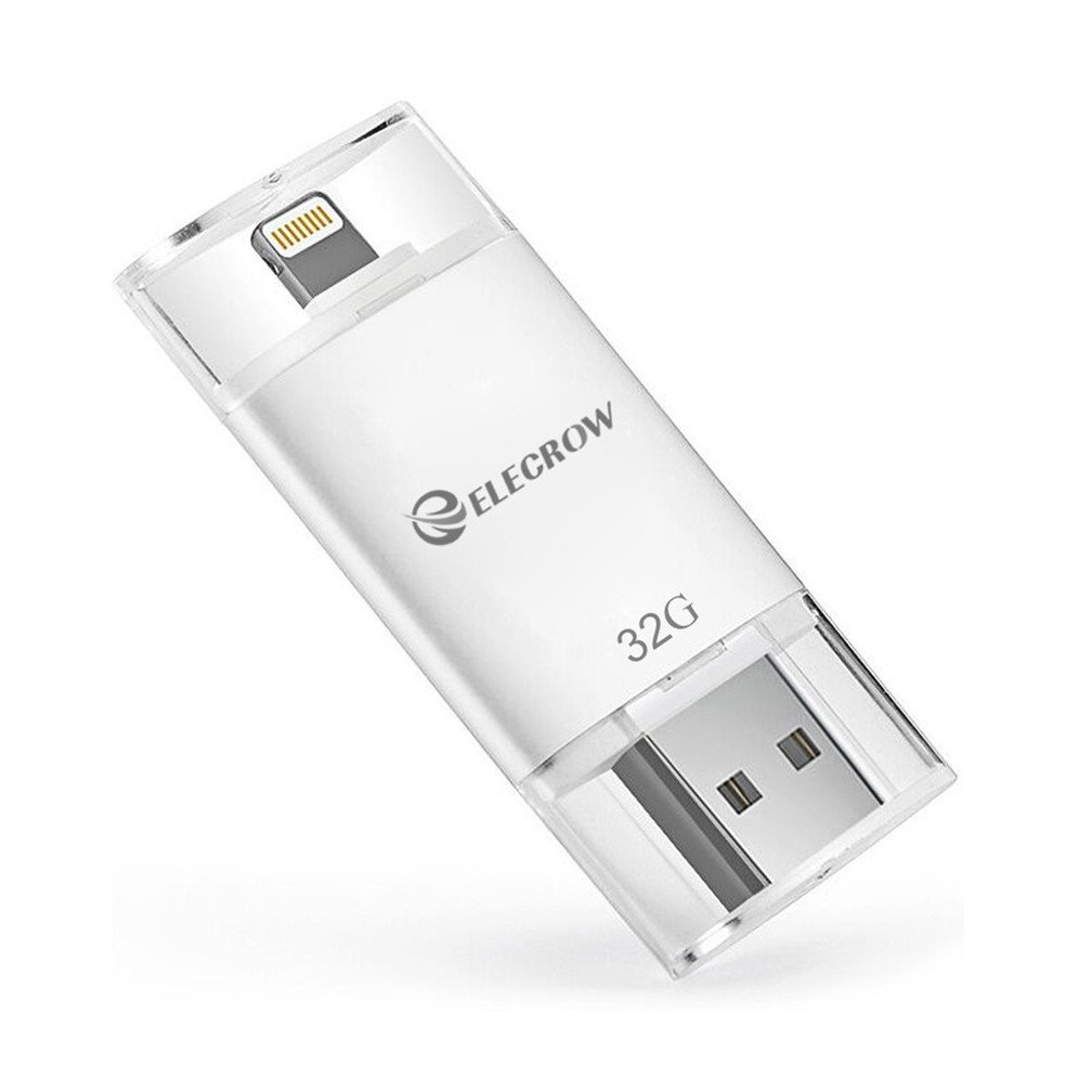 Elecrow 32gb External Memory Usb Flash Drive Disc Toshiba 64 Gb Storage Expansion For Iphone 5 5s 5c 6 Plus 6s 7 7plus Ipads Ipods