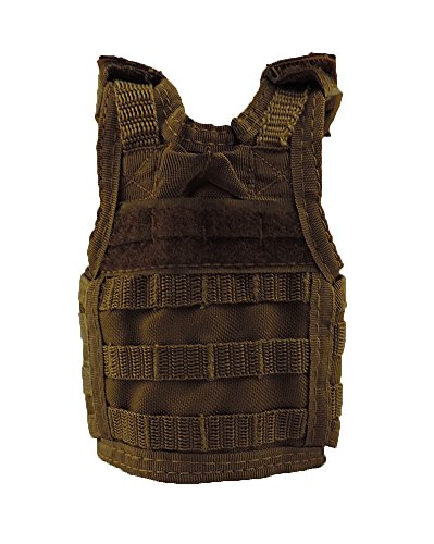 Coyote Brown Tactical Vest Insulated Bottle or Can Beverage Beer Cooler