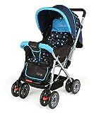 Luvlap Sunshine Baby Stroller Pram (Sky Blue)