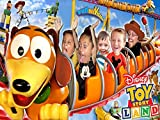 Toy Land Slinky Dog Dash Roller Coaster!