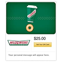Deals on $50 Krispy Kreme Gift Cards E-mail Delivery