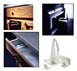 Kidco Adhesive Mount Cabinet and Drawer Lock, 12 ct.