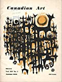 img - for Canadian Art: Vol. XIV, No. 1, Autumn 1956 book / textbook / text book