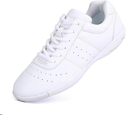 Mfreely Cheer Shoes for Girls White
