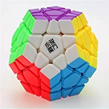 Elloapic YongJun YJ YuHu 3x3x12 Megaminx Dodecahedron 3x3 Gigaminx megaminx Cube 12 Surface (Black) + One cube stand