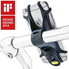 The Bone Bike Tie is the Original silicone bike phone mount and the 2016 iF Design award winner. It's simple yet innovative design, integrates the functions of a universal phone holder and a bike mount into one-piece silicone mold, which make...