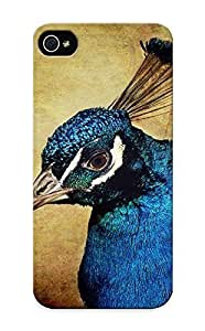 Storydnrmue Scratch-free Phone Case For Iphone 5/5s- Retail Packaging - Blue Peacock