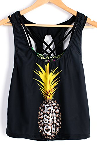 ALICECOCO - Tankini - para mujer Pineapple