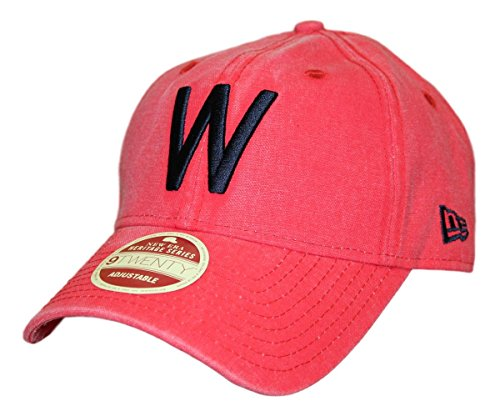 - New Era Washington Senators MLB 9Twenty Cooperstown Classic Wash Adjustable Hat