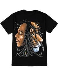 Lion Profile Adult T-Shirt