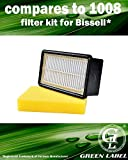 For Bissell Filter Kit (compares to 1008). Pre Motor (2032662)...