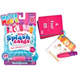 Scent Masters Water Magic Splash Cards - Reusable Water Reveal Learning Activity - Donut Scented Sweet Shoppe Numbers