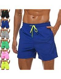 Men's Swim Trunks Quick Dry Swim Shorts with Mesh Lining Waterproof SwimmingTrunks for Men