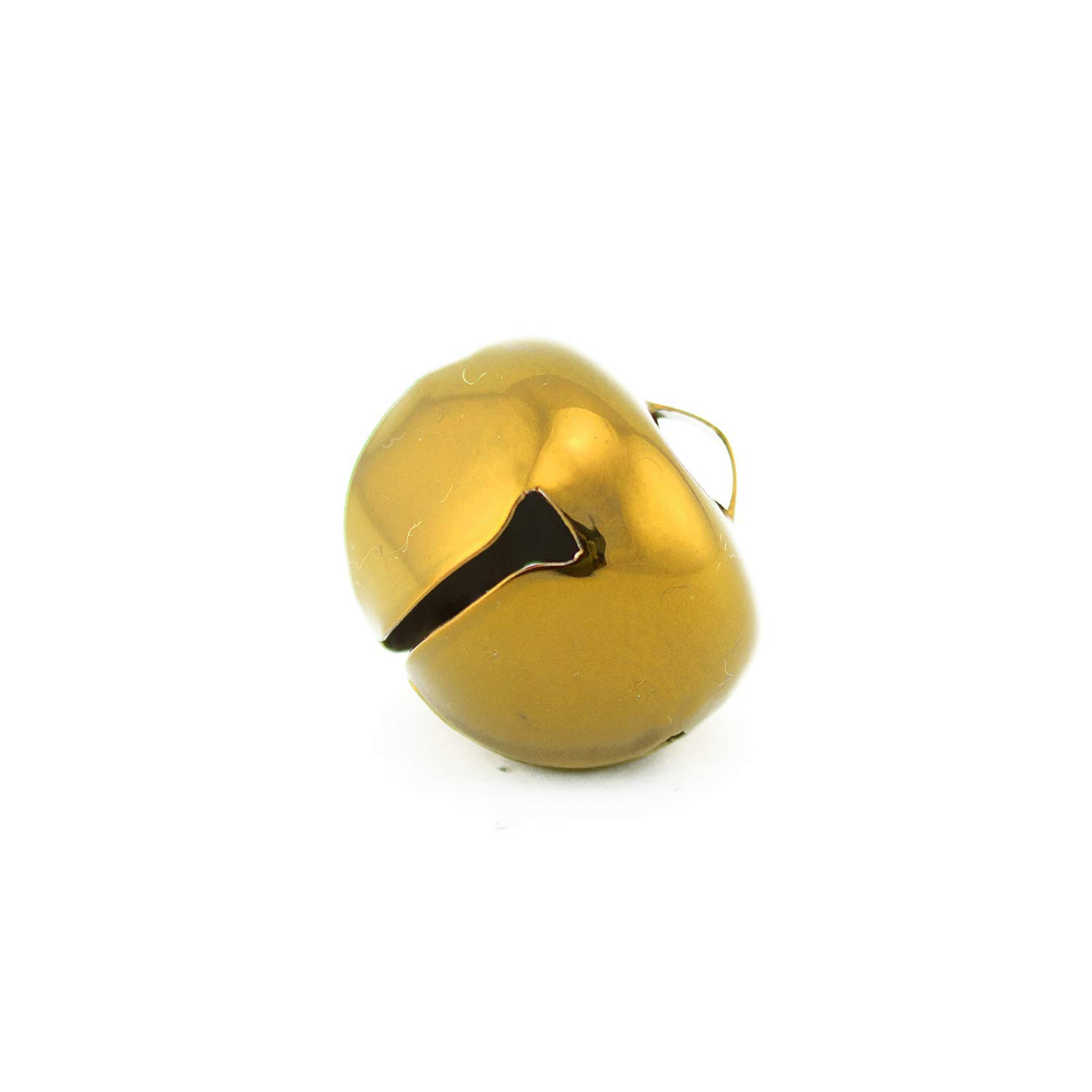 1.5 Inch 36mm Extra Large Giant Jumbo Craft Gold Jingle Bells 2 Pieces