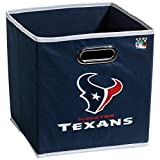 Franklin Sports NFL Team Fabric Storage Cubes - Made to Fit Storage Bin Organizers (11x10.5x10.5)