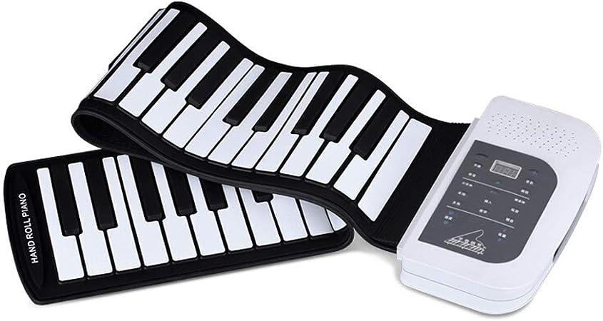 Hand Roll Piano 61 teclas engrosadas Edición profesional ...