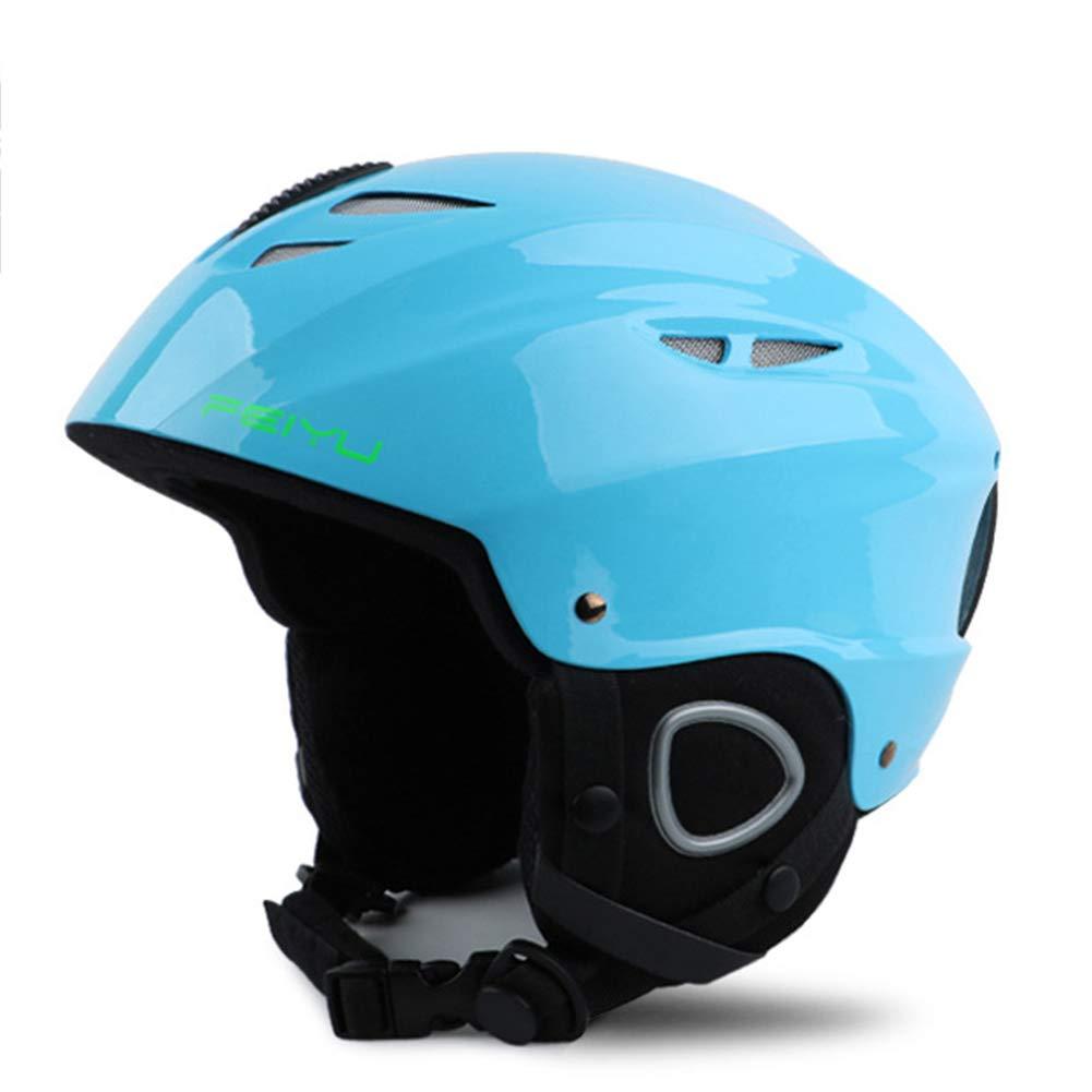 TOOSD Ski/Doppel Furnier Bord Helm Race Edition Erwachsene Ski Helme Für Männer Und Frauen Kinder Helme Schutzausrüstung Snowboard Ausrüstung Einstellbar,E,M