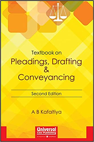 Buy Textbook on Pleadings, Drafting and Conveyancing Book Online at