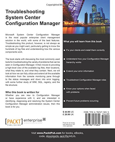 Troubleshooting System Center Configuration Manager: Peter Egerton