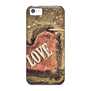 TinaMacKenzie Cases Covers For Iphone 5c - Retailer Packaging Love Protective Cases