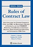 Rules of Contract Law 2015-2016 Statutory Supplement