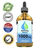 Cheap Serenity Hemp Oil – 2 fl oz 1000 mg (Peppermint) – Certified Organic – Relief for Stress, Inflammation, Pain, Sleep, Anxiety, Depression, Nausea – Rich in Vitamin E, Vitamin B, Omega 3,6,9 and More!