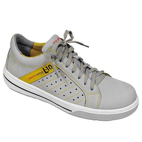 Elten 2060928 - 92.109-37 breezer bassa esd pezzo grigio scarpa o1, multicolore,