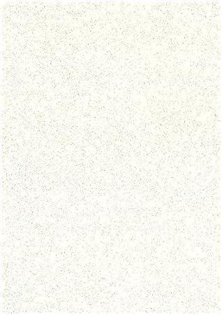 10 x Hojas A4 Piedra Crema Stardust Brillo Chispeante Craft Tarjeta 285gsm