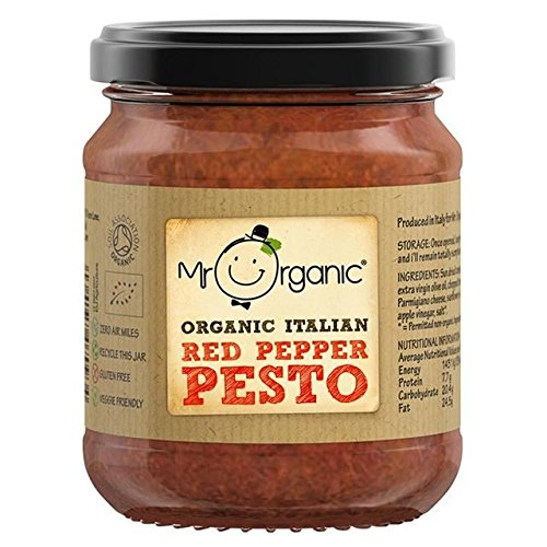 (Mr Organic Red Pepper Pesto - 130g)