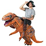 T-Rex Riding Costume Adult Inflatable Dinosaur Costume for Halloween,Christmas Party Halloween costums 2018