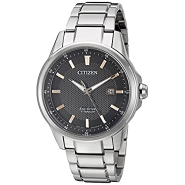 Citizen AW1490-50E Eco-Drive Titanium Men's Watch