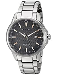 Citizen Men's Quartz Titanium Casual Watch (Model: AW1490-50E)