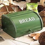 アクシス/Homestead+ブレッド缶+ローラートップブレッド缶 緑+HS1432