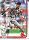 2019 Topps #643 Chris Sale Boston Red Sox Baseball Card