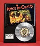 #9: Alice In Chains Non Riaa LTD Edition Platinum Record Display - Award Quality Plaque - Music Memorabilia -