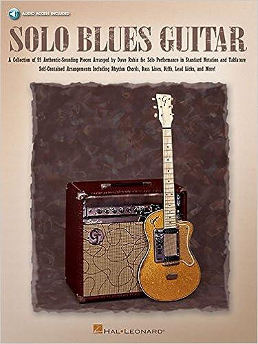 Solo Blues Guitar Book/Online Audio Guitar Collection: Amazon.es ...