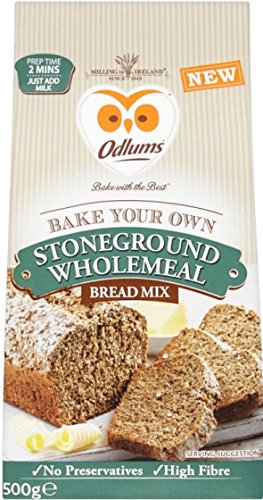 Odlums Stoneground Wholemeal Bread Mix 500g ()