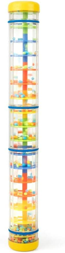 Plastic Rain Sound Maker Shake Colorful Beads Kids Play Toys Gifts YOU DECIDE